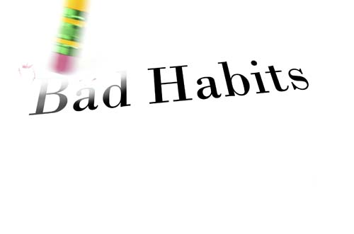 Erase Bad Habits