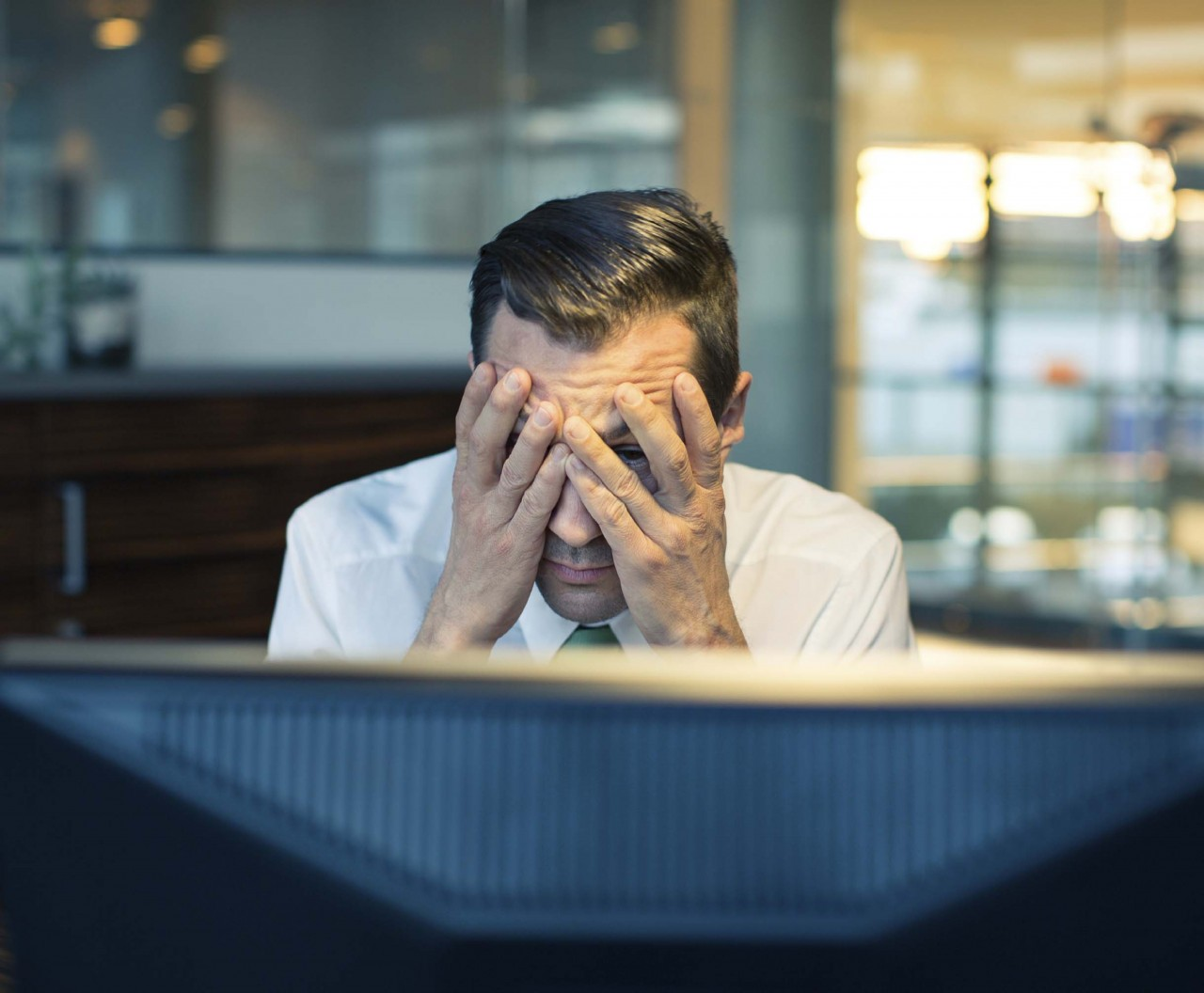 Stress-working-late