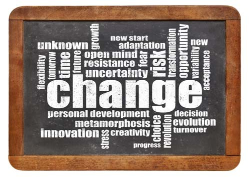 WORKING ON CONTINUED CHANGE IN YOUR BUSINESS